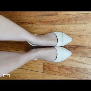 Shoes - Beige Flats